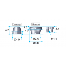 Защитный колпачок для мульти-юнит абатментов AnyOne